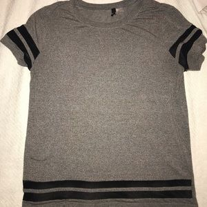 H&M t shirt with mesh detail